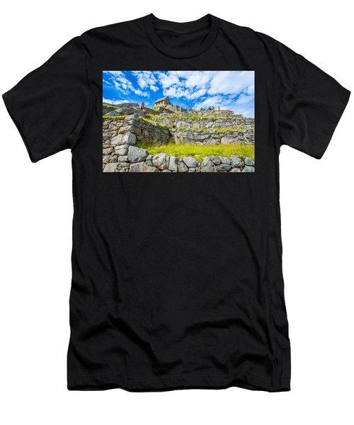 Stone Walls Men's T-Shirt (Athletic Fit)