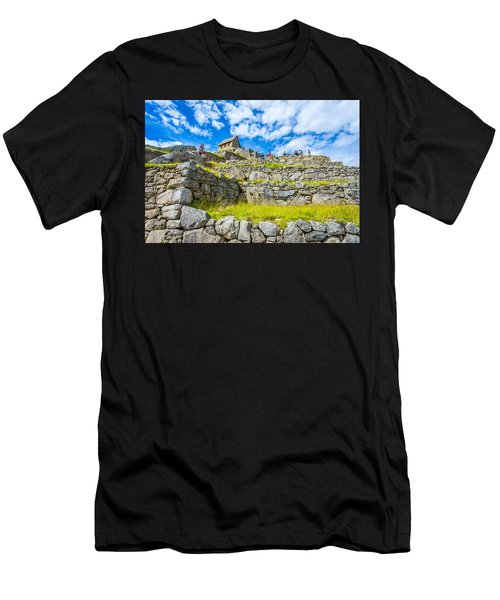 Stone Walls Men's T-Shirt (Athletic Fit)