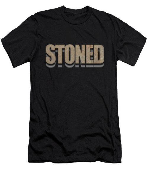 Stoned Tee Men's T-Shirt (Athletic Fit)