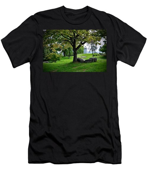 Stony Point Landscape Men's T-Shirt (Athletic Fit)
