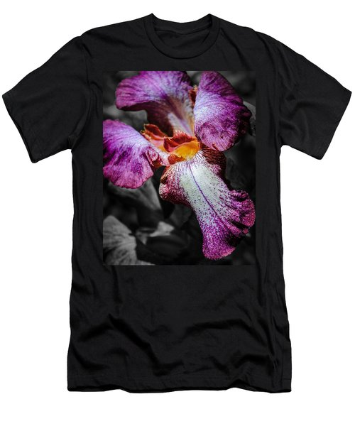 Stop And Admire The Irises Men's T-Shirt (Athletic Fit)