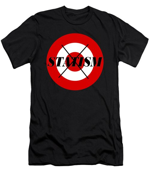 Stop Statism Men's T-Shirt (Athletic Fit)