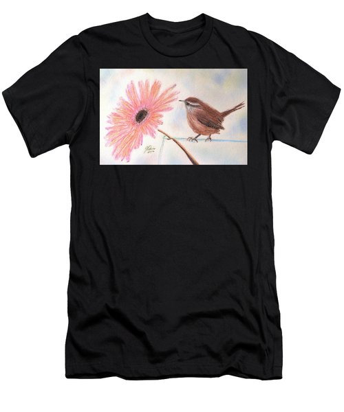 Stopping By To Say Hello Men's T-Shirt (Athletic Fit)