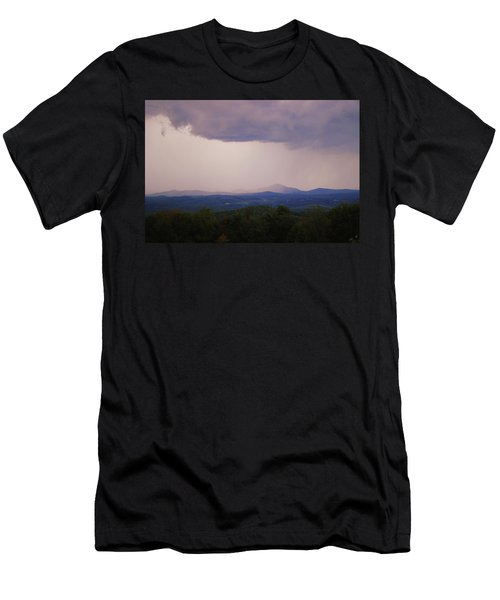 Storm At Lewis Fork Overlook Men's T-Shirt (Athletic Fit)