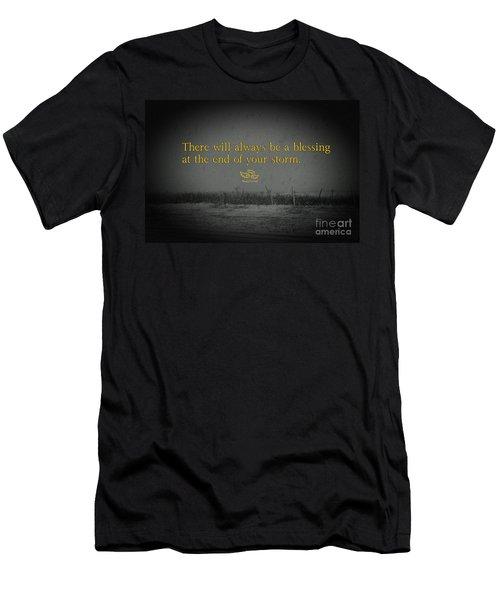 Storm Blessings Men's T-Shirt (Athletic Fit)