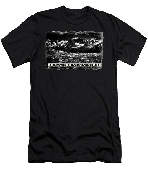 Storm Clouds Gathering In The Rockies Men's T-Shirt (Athletic Fit)