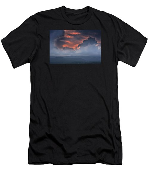Men's T-Shirt (Athletic Fit) featuring the photograph Storm Clouds by Ken Barrett