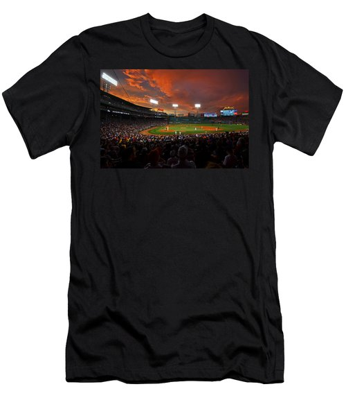 Storm Clouds Over Fenway Park Men's T-Shirt (Athletic Fit)
