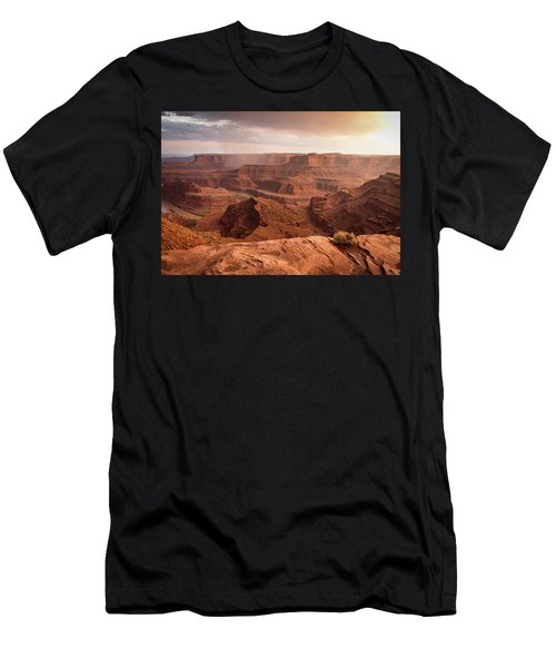 Storm Over Canyonlands Men's T-Shirt (Athletic Fit)