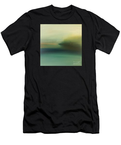 Men's T-Shirt (Athletic Fit) featuring the painting Storm Over Cuba by Michelle Abrams