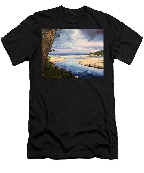 Storm Over Moona Moona Creek Men's T-Shirt (Athletic Fit)