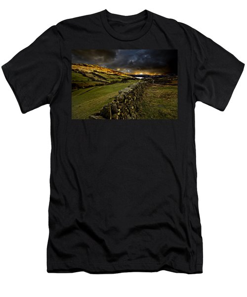 Storm Over Windermere Men's T-Shirt (Athletic Fit)