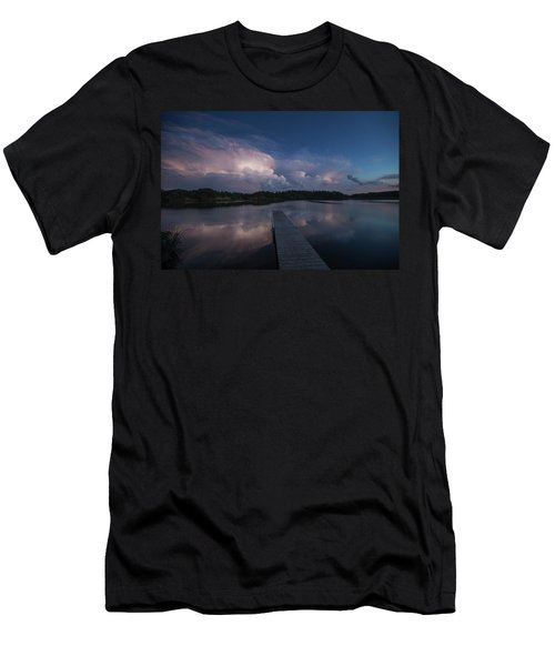 Men's T-Shirt (Slim Fit) featuring the photograph Storm Reflection by Aaron J Groen