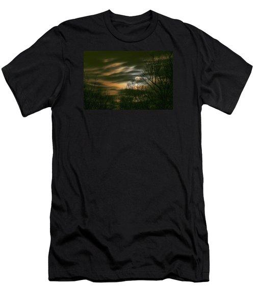 Storm Rollin' In Men's T-Shirt (Slim Fit) by J R Seymour