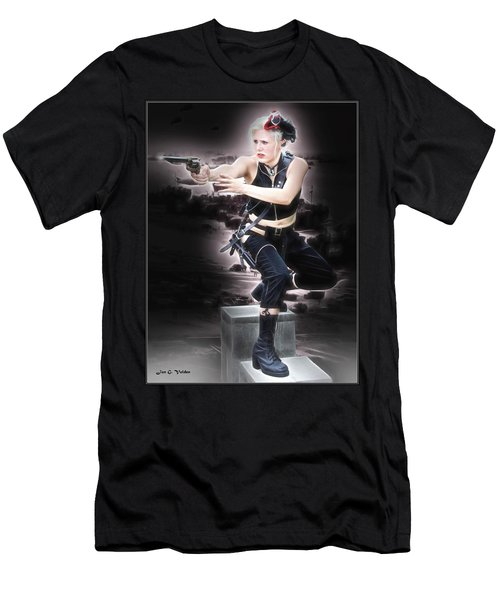 Storming The Beach Men's T-Shirt (Athletic Fit)