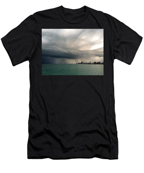 Storms Over Chicago Men's T-Shirt (Athletic Fit)