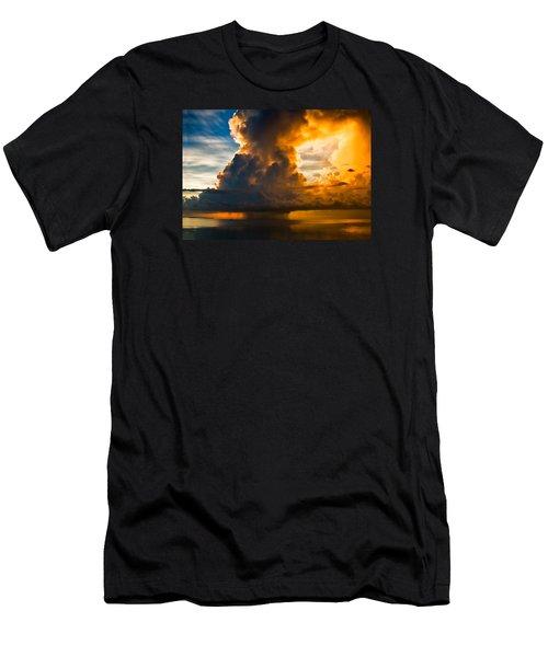 Stormy Florida Keys Men's T-Shirt (Athletic Fit)