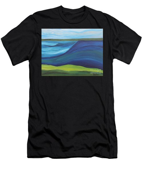 Stormy Lake Men's T-Shirt (Athletic Fit)