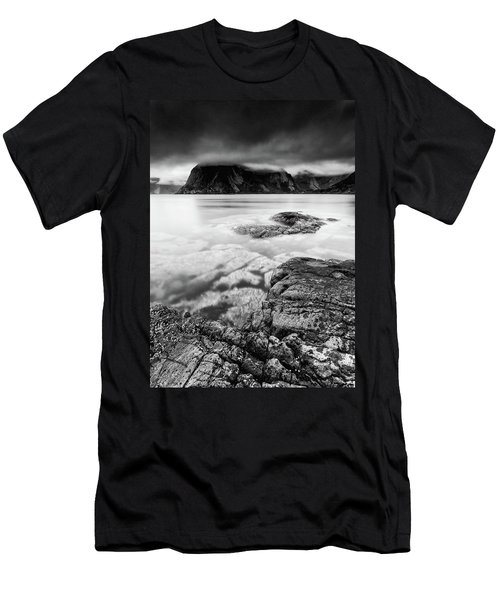 Stormy Lofoten Men's T-Shirt (Athletic Fit)
