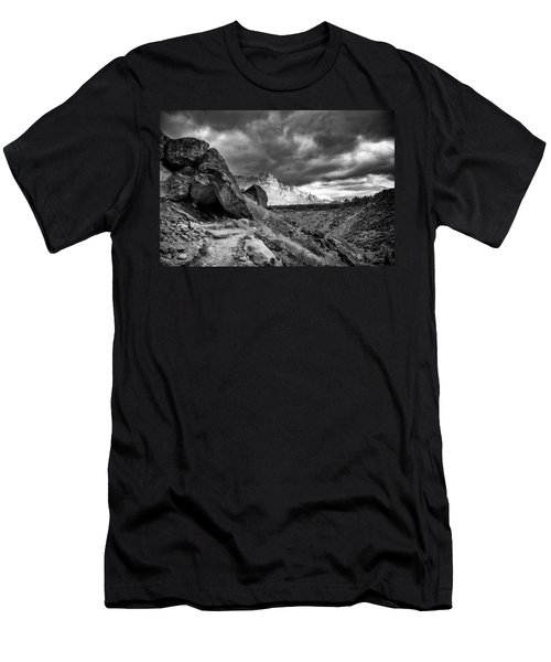 Stormy Misery Ridge  Men's T-Shirt (Athletic Fit)