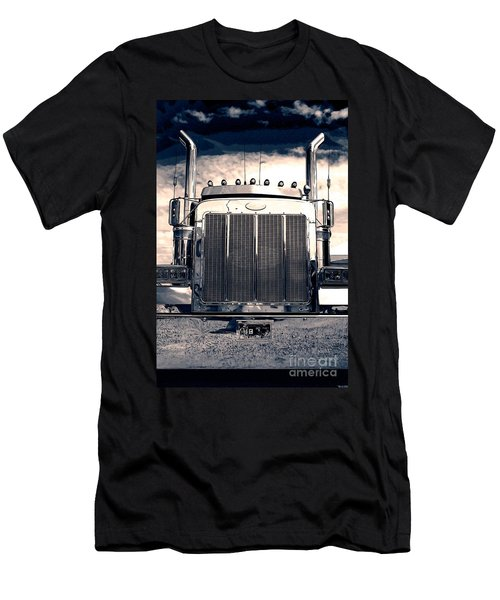 Stormy Night Peterbilt Men's T-Shirt (Athletic Fit)
