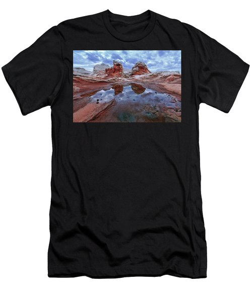Stormy Reflection Men's T-Shirt (Athletic Fit)