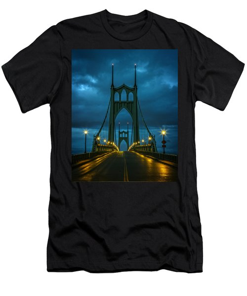 Stormy St. Johns Men's T-Shirt (Slim Fit) by Wes and Dotty Weber