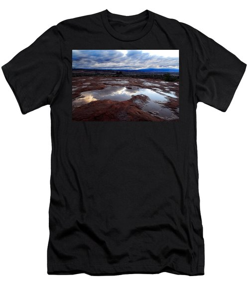 Stormy Sunrise Men's T-Shirt (Athletic Fit)