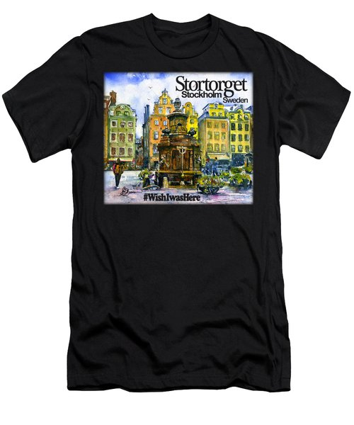 Stortorget Stockhom Shirt Men's T-Shirt (Athletic Fit)