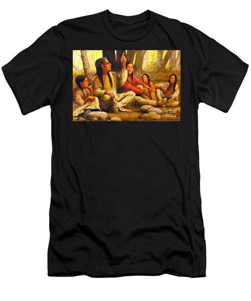 Story Teller Men's T-Shirt (Athletic Fit)