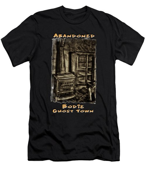 Stove And Cabinet Bodie Ghost Town Men's T-Shirt (Athletic Fit)