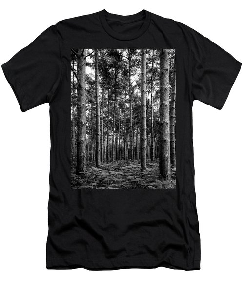 Men's T-Shirt (Athletic Fit) featuring the photograph Straight Up by Nick Bywater