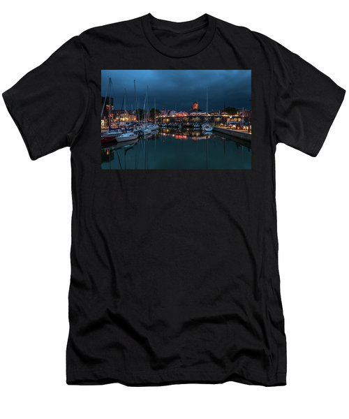 Stralsund At The Habor Men's T-Shirt (Athletic Fit)