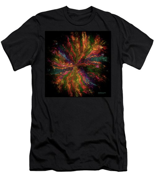 Strange Bloom Men's T-Shirt (Athletic Fit)