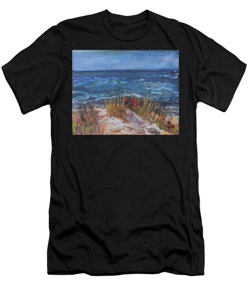 Strangers On The Shore Men's T-Shirt (Athletic Fit)