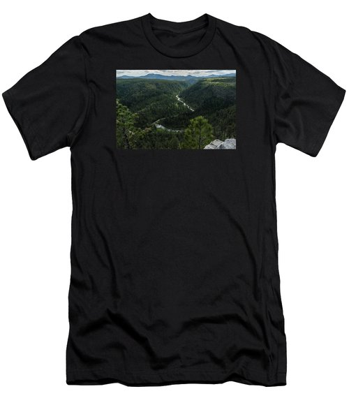 Stratobowl Overlook On Spring Creek Men's T-Shirt (Athletic Fit)