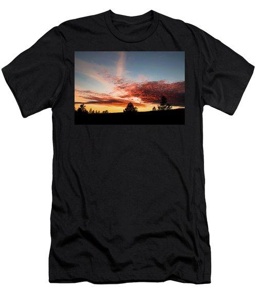 Stratocumulus Sunset Men's T-Shirt (Athletic Fit)