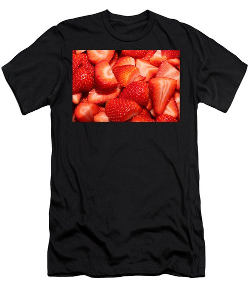 Strawberries 32 Men's T-Shirt (Athletic Fit)