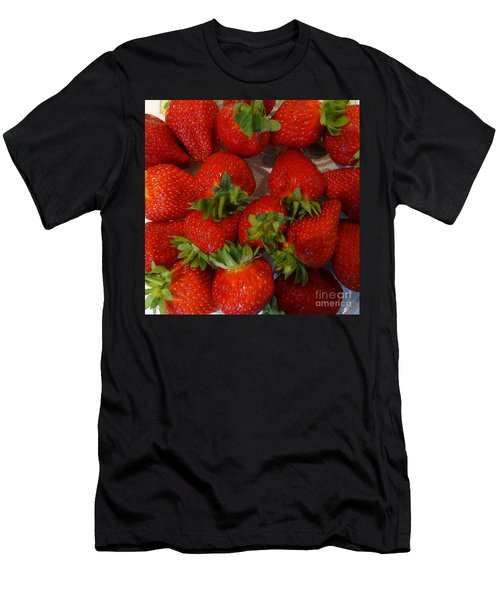 Strawberries Men's T-Shirt (Athletic Fit)
