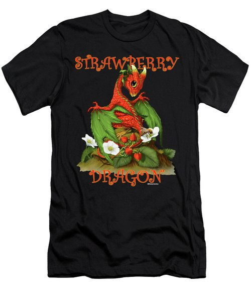 Strawberry Dragon Men's T-Shirt (Athletic Fit)