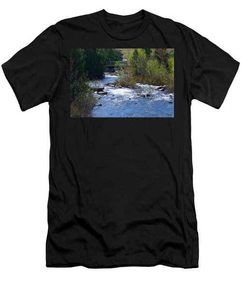 Stream In Spring Men's T-Shirt (Athletic Fit)