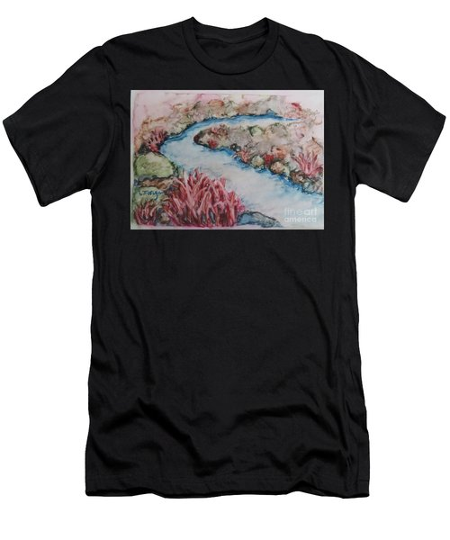 Stream Of Dreams Men's T-Shirt (Athletic Fit)