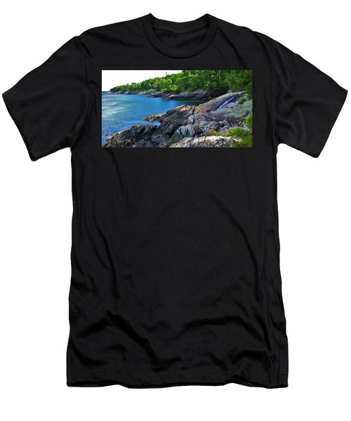 Stream To Sea Men's T-Shirt (Athletic Fit)