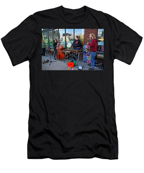 Street Band Men's T-Shirt (Athletic Fit)