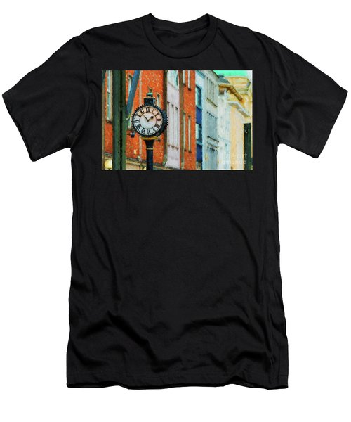 Street Clock In Cork Men's T-Shirt (Athletic Fit)