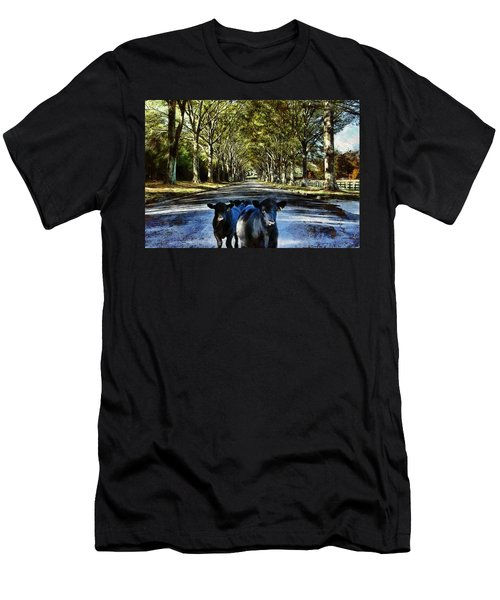 Street Cows Men's T-Shirt (Athletic Fit)