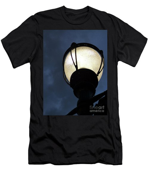 Street Lamp At Night Men's T-Shirt (Athletic Fit)