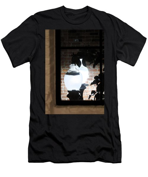 Street Light Through Window Men's T-Shirt (Athletic Fit)