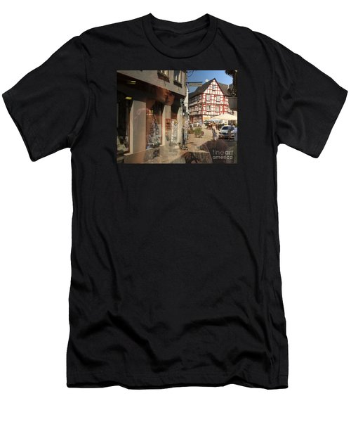 Street Reflected In A Shop Window Men's T-Shirt (Athletic Fit)