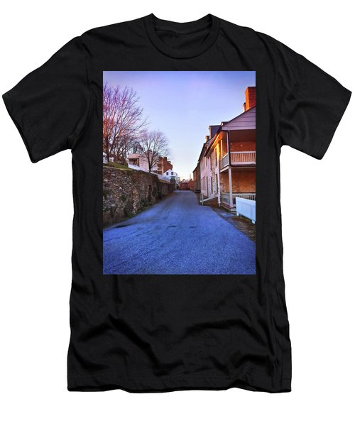 Streets Of Harpers Ferry Men's T-Shirt (Athletic Fit)